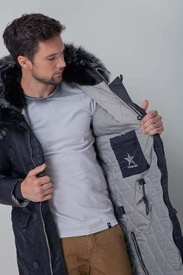 Куртка Airboss Shuttle Dark Grey/Siver XXS