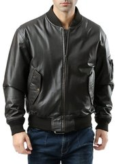 Куртка Alpha Industries MA-1 Leather Black S